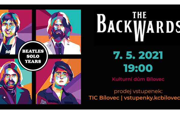 The Backwards: World Beatles Show v programu BEATLES SOLO YEARS - NOVÝ TERMÍN!
