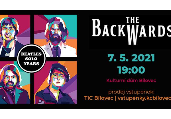 The Backwards: World Beatles Show v programu BEATLES SOLO YEARS - NOVÝ TERMÍN!