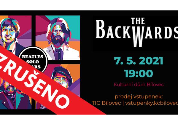 ZRUŠENO! - The Backwards: World Beatles Show v programu BEATLES SOLO YEARS