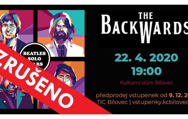 THE BACKWARDS - ZRUŠENO!
