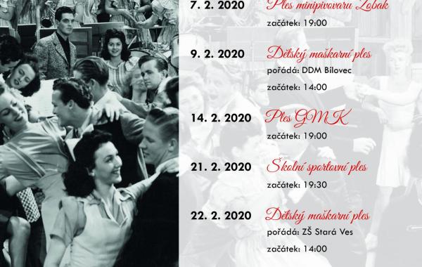 Plesová sezona 2020